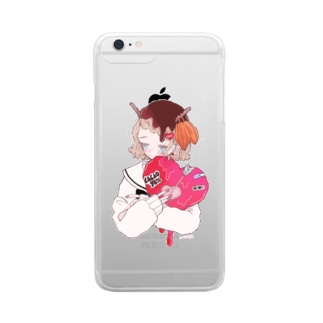 CACAO GIRL Clear smartphone cases