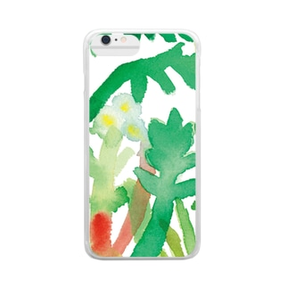 Spring grass Clear smartphone cases