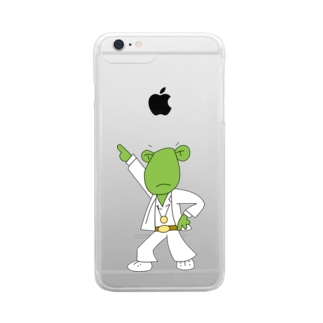 DISCO FROGBERT Clear smartphone cases