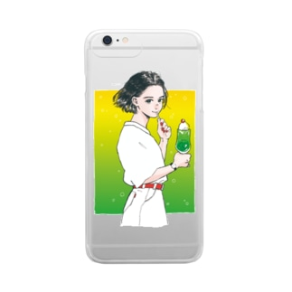 90's GIRL  Clear smartphone cases