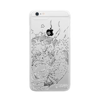スマンフォフォのガワ Clear smartphone cases