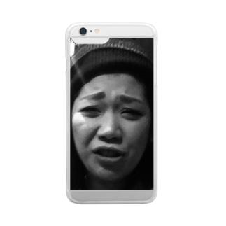 かとうくん Clear smartphone cases