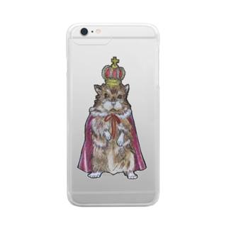 ruca's shopのねずみの王様 Clear Smartphone Case