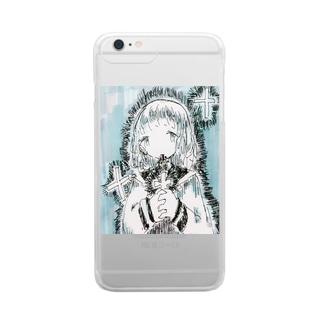 じゅうじか Clear smartphone cases