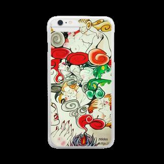 Metamorphoses~Strange&Bizzare~のお香 Clear smartphone cases