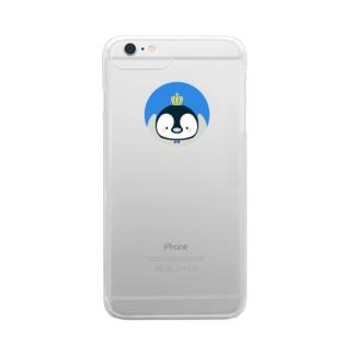 覗き込みぺん Clear smartphone cases