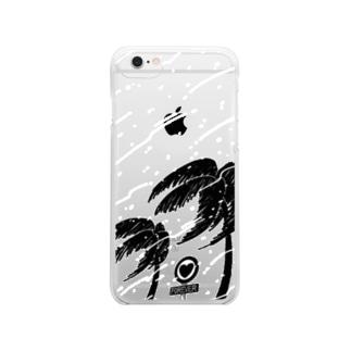南の冬 Clear smartphone cases