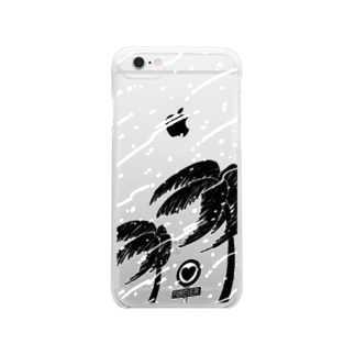 unknown+storeの南の冬 Clear smartphone cases