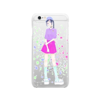 RAINBOW Clear smartphone cases