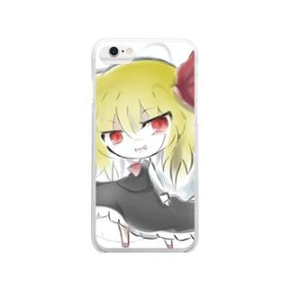 【東方】ルーミア Clear smartphone cases