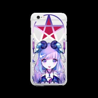 きあとのコントロール•マジック♡+. Clear smartphone cases