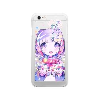 きあーとわーくす+. Clear smartphone cases