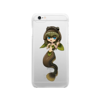 SDダボ~ンヌ Clear smartphone cases