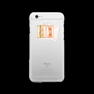 omisoのパンクリアスマートフォンケース