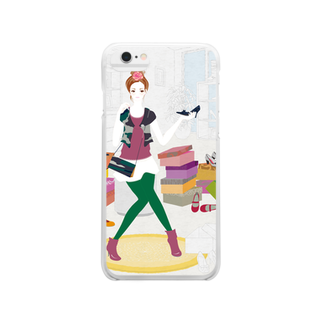 Re:の「靴屋」 Clear smartphone cases