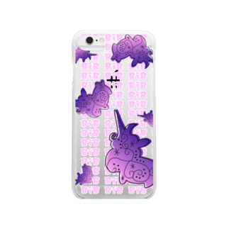 BiB handmadeshopのUnico Clear smartphone cases