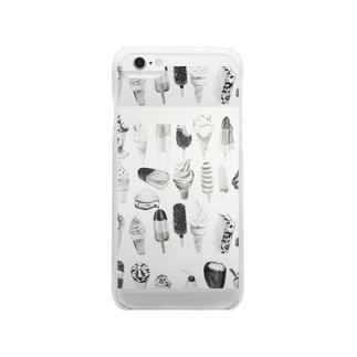 アイスマートフォンケース Clear smartphone cases