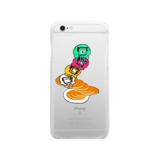 Pancake with Eyescream Clear smartphone cases