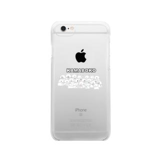 かまぼこ Clear smartphone cases
