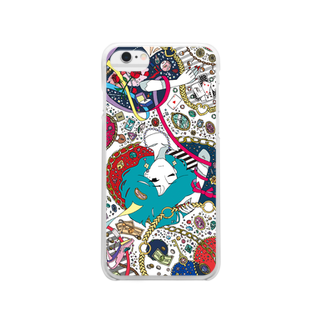 unknown+storeの贅沢な悩み Clear smartphone cases