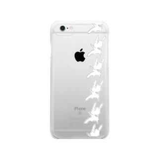 ウサライン Clear smartphone cases
