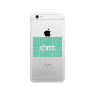 chmtグッズ クリアスマートフォンケース