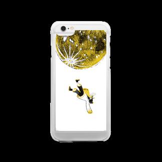 さしみ鍋子のつきの子 Clear smartphone cases