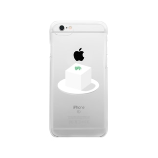 豆腐 Clear smartphone cases