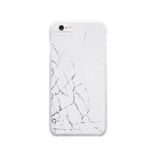 本日をもちまして画面バキバキ Clear smartphone cases