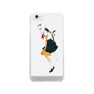 A sailor cat  Clear smartphone cases