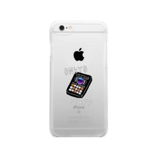 音響スタッフ Clear smartphone cases