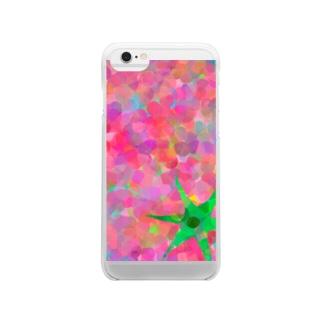 トマト Clear smartphone cases