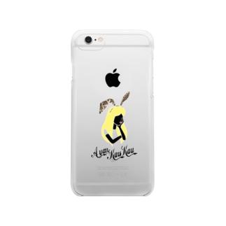 AKK lp Rabbit Line White/a Clear smartphone cases