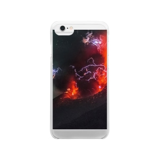 Sakurajima Volcano explosion1 Clear smartphone cases