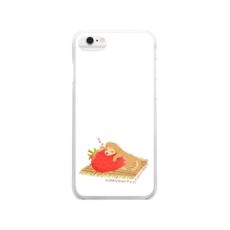 favorite cushion Clear smartphone cases