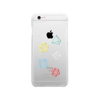 Regular Polyhedron Clear smartphone cases