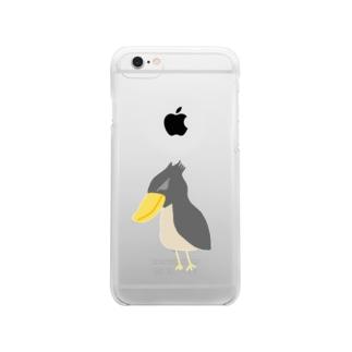 アクティブな不動 Clear smartphone cases