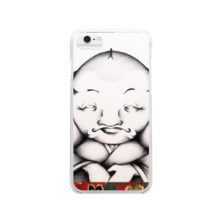 MAYUGENEKOpresentsの福助 Clear smartphone cases