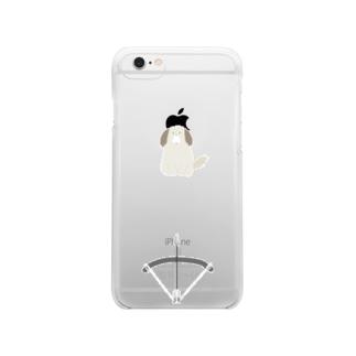 りんご芸(iPhone6) Clear smartphone cases