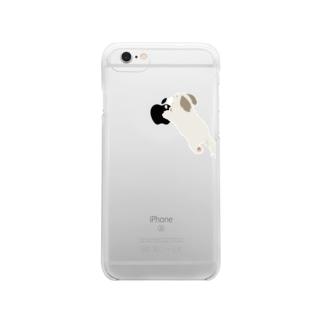りんごおいしイヌ Clear smartphone cases