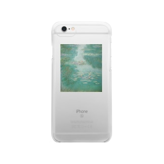 monet iphone Clear smartphone cases
