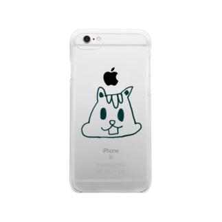 りす Clear smartphone cases
