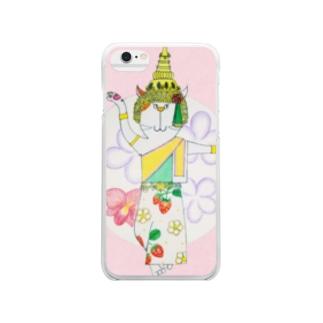 4月 タイのアイツ Clear smartphone cases