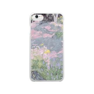 garden Clear smartphone cases