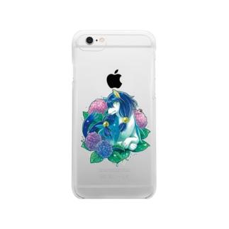 シリウス・クリアケース Clear smartphone cases