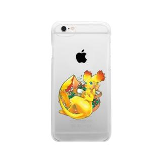フローレス・クリアケース Clear smartphone cases