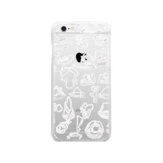 MITATE 白 Clear smartphone cases