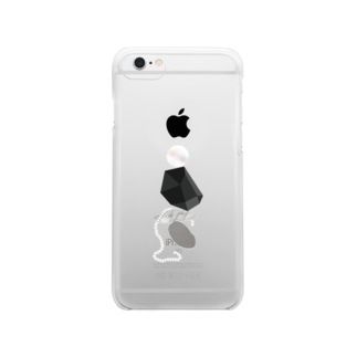 stones Clear smartphone cases