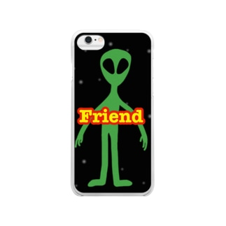 Friend Clear smartphone cases