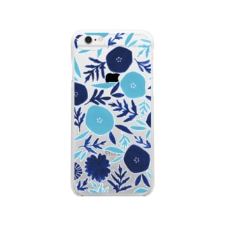 botanical Clear smartphone cases